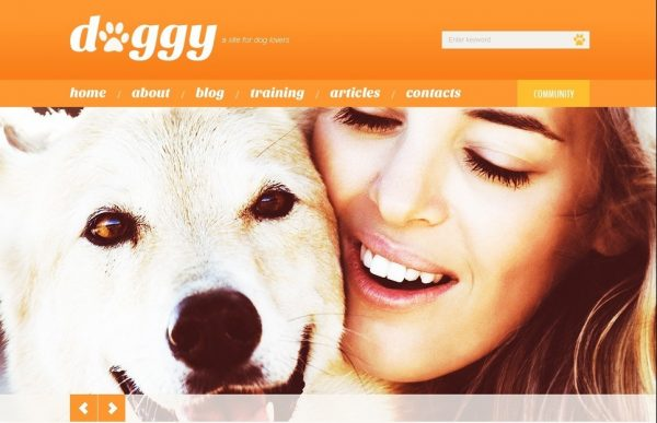 Pet Care Dog Kennels WordPress Themes Free Download