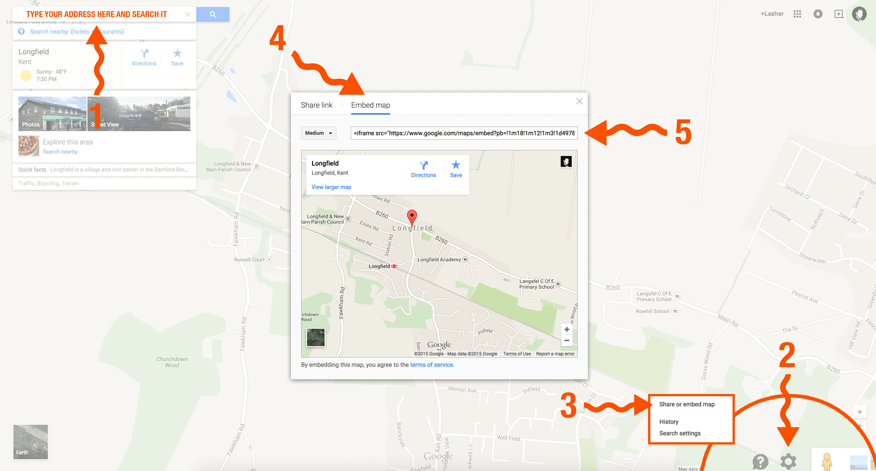 how to get your website on google maps