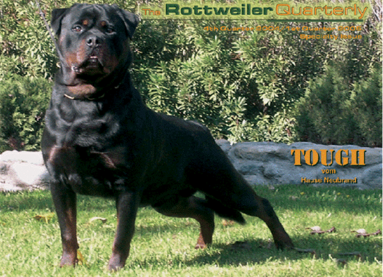 Cover of ROTTWEILER QUARTERLY