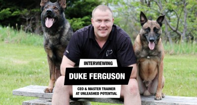 Interview with certified professional dog trainer Unleashed Potential Duke Ferguson