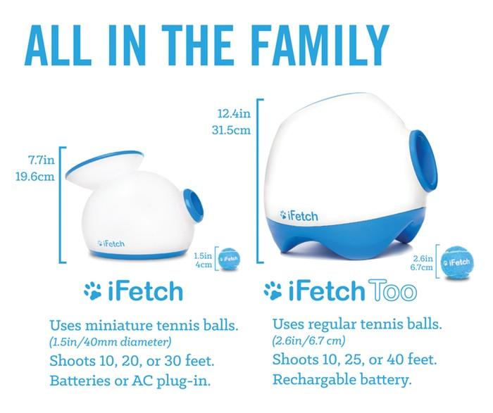 iFetch Too vs iFetch
