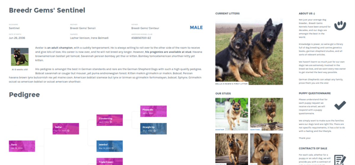 kennel plugin for wordpress