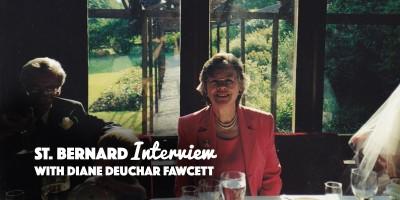 Saran beck Saint Bernards Diane Deuchar Fawcett