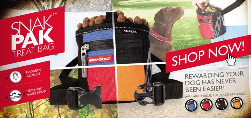 ezydog snakpak pro treat bag