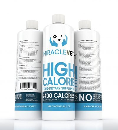 miracle weight gainer dog supplement