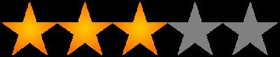 Rating: 3 stars