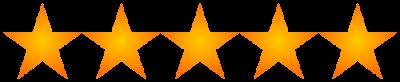 Rating: 5 stars