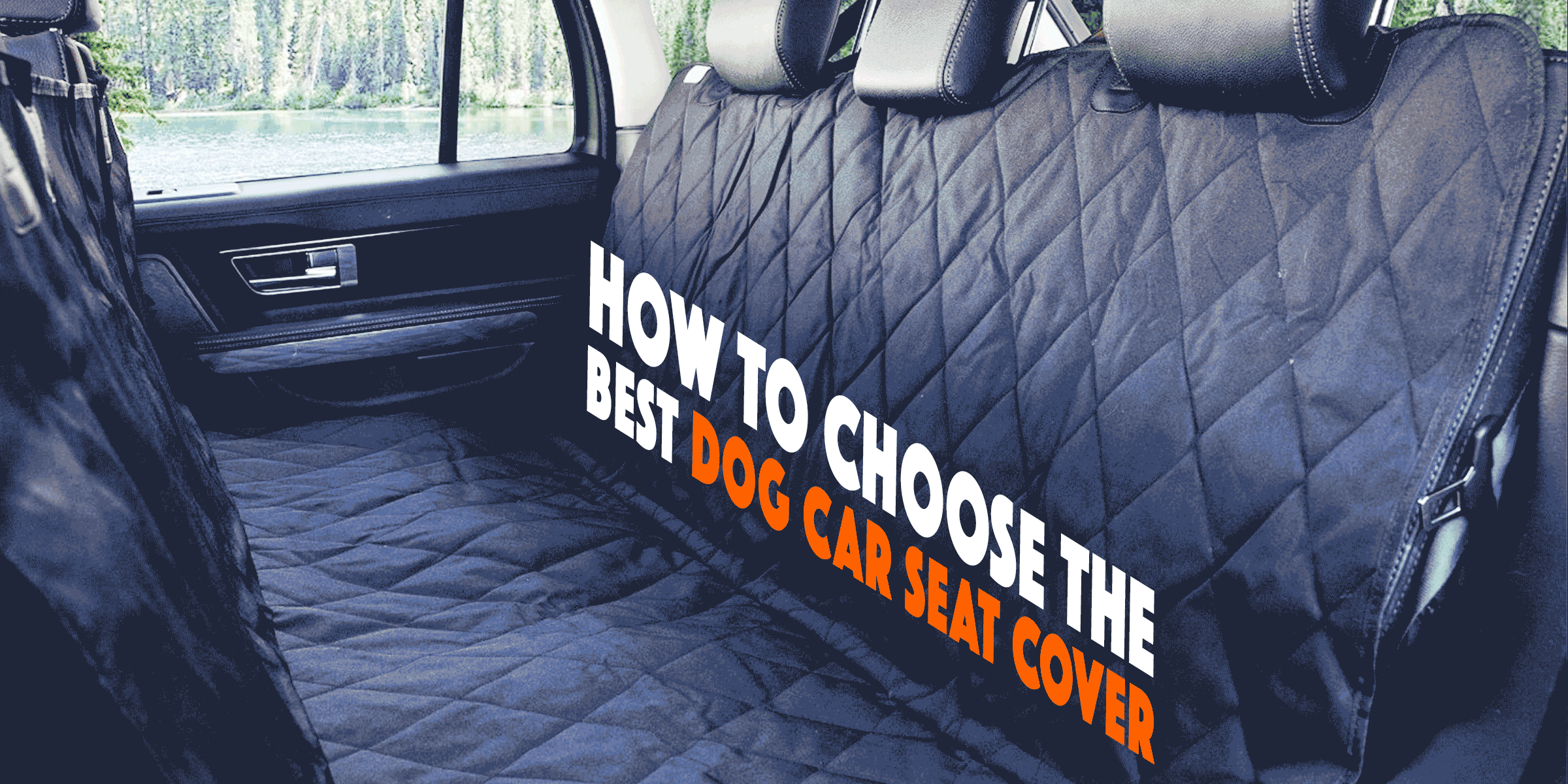 3 best dog car seat covers for suvs cars and trucks in 2018. Black Bedroom Furniture Sets. Home Design Ideas