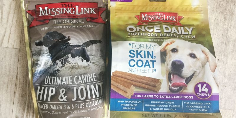 Review: The Missing Link Ultimate Hip & Joint Dog Supplement