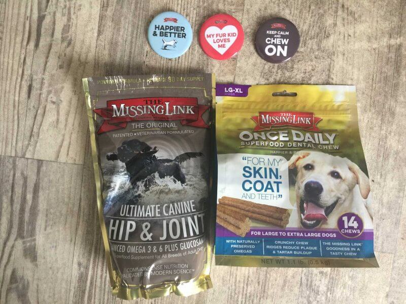 unboxing of The Missing Link Ultimate Hip & Joint Dog Supplement