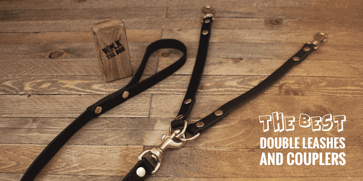 6.6 ft Triple Dog Leash,360/°Swivel No Tangle Double Dog Walking Training Leash,2-Way/&3-Way Interchangeable Lead with Hand-Protected Handle Waste Bag Dispenser for Two//Three Dogs Dual Dog Leash