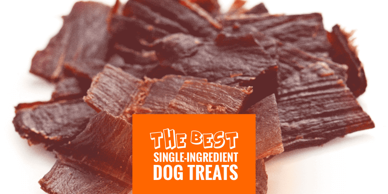 Best Single-Ingredient Dog Treats
