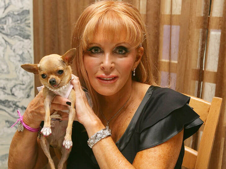 conchita (richest chihuahua dog) and gail posner