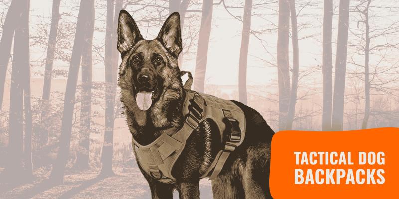 Tactical Dog Backpacks