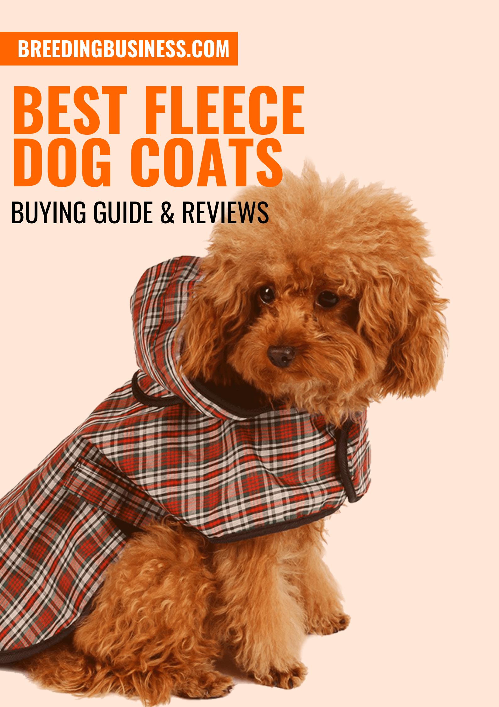 Guide – Wintertime Fleece Dog Coats