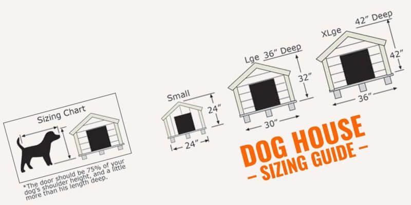dog house sizing guide