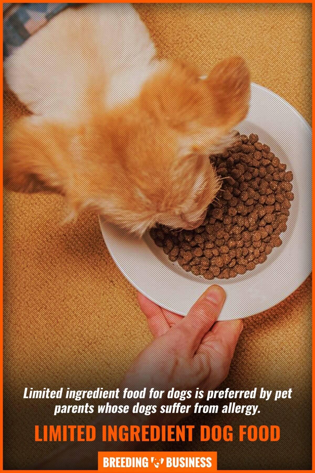 limited ingredient dog food
