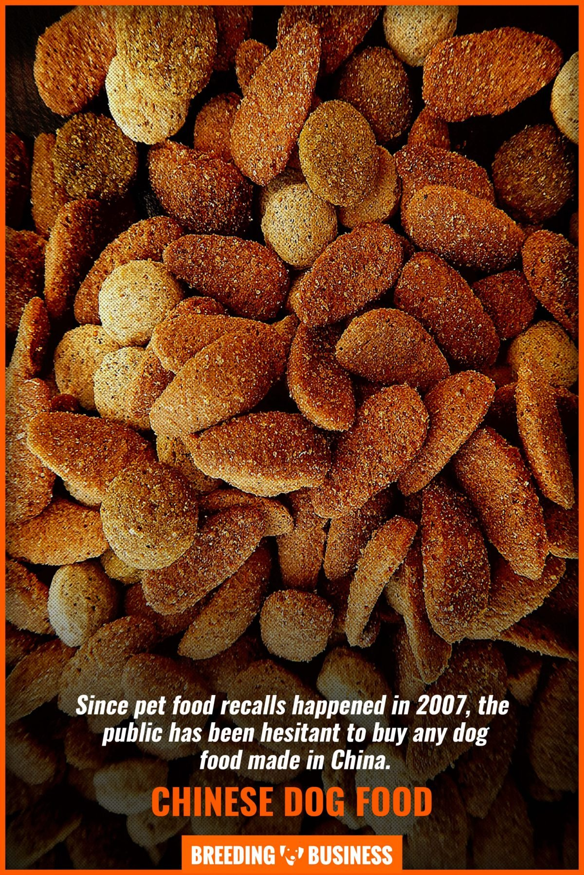 chinese dog food