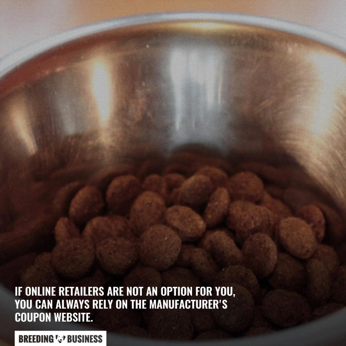 dog food manufacturers online