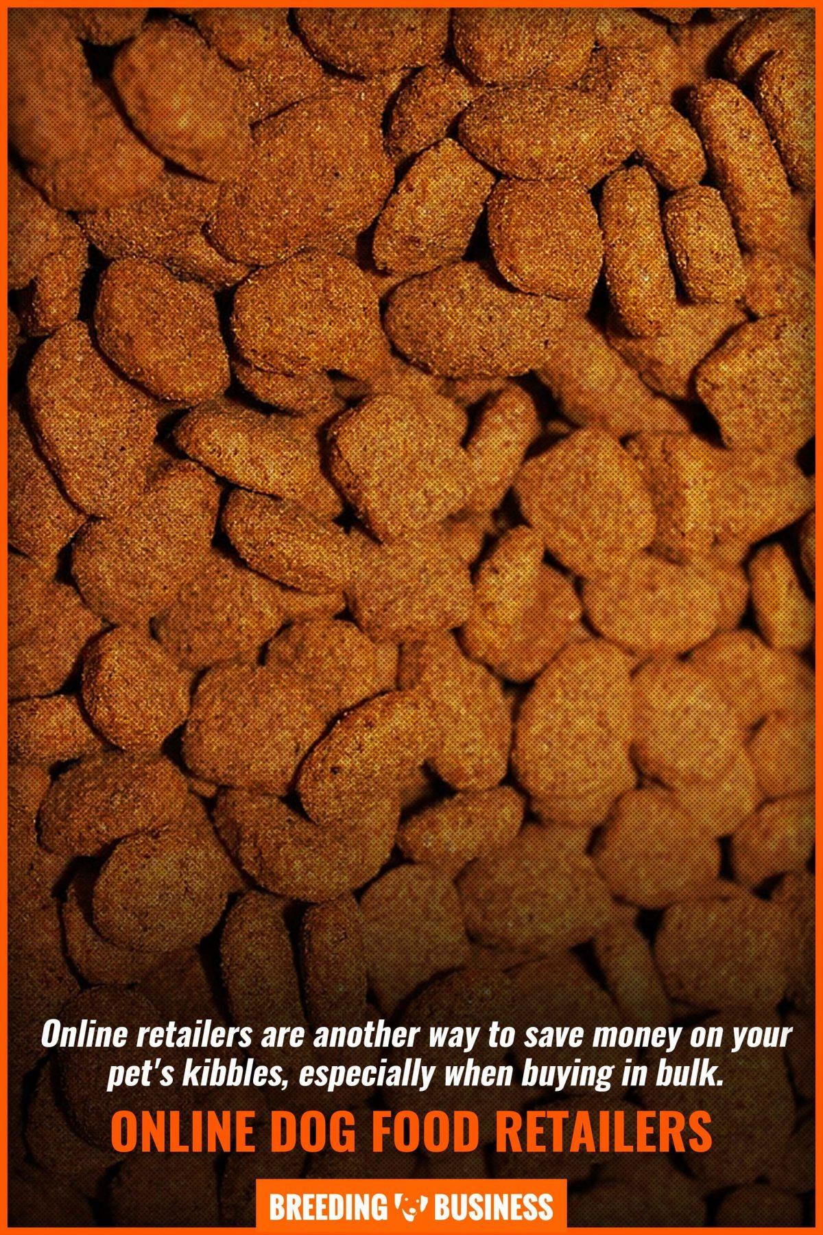 online dog food retailers