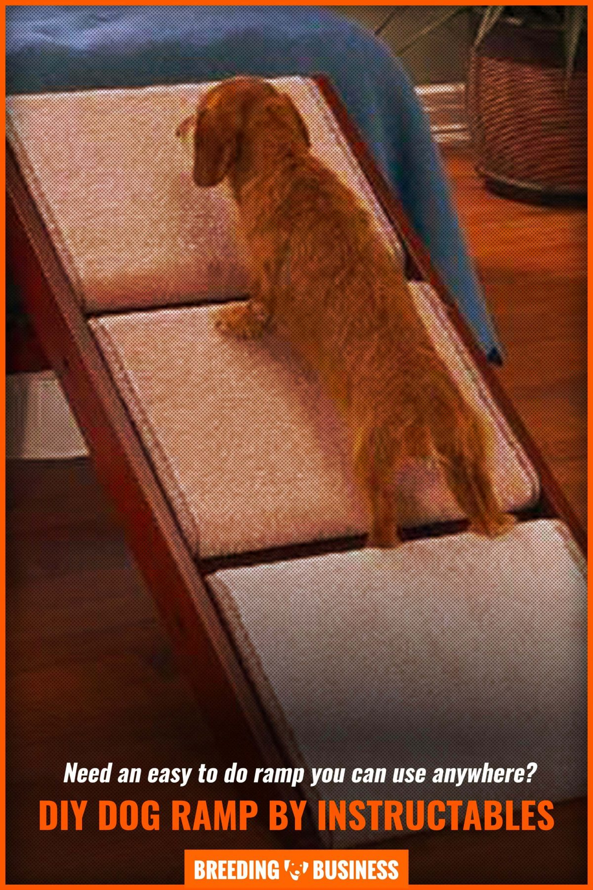 diy dog ramp by instructables