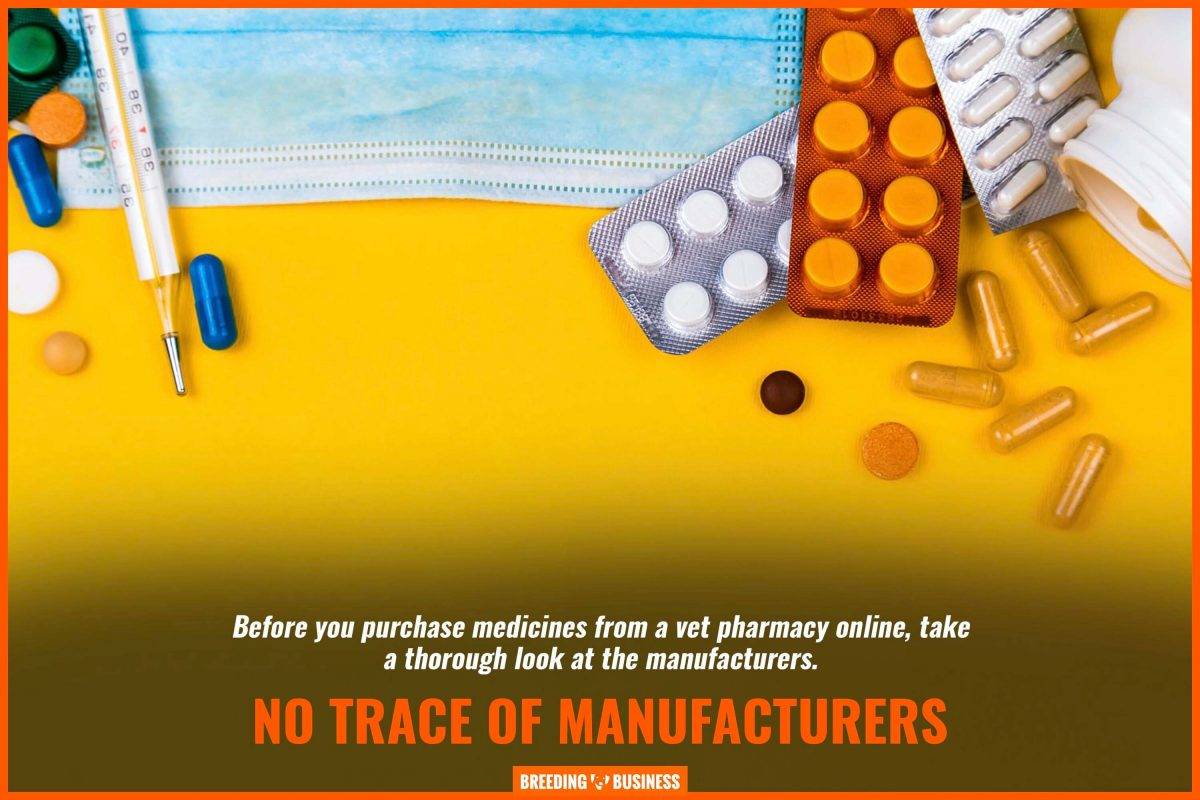 no trace of manufacturers