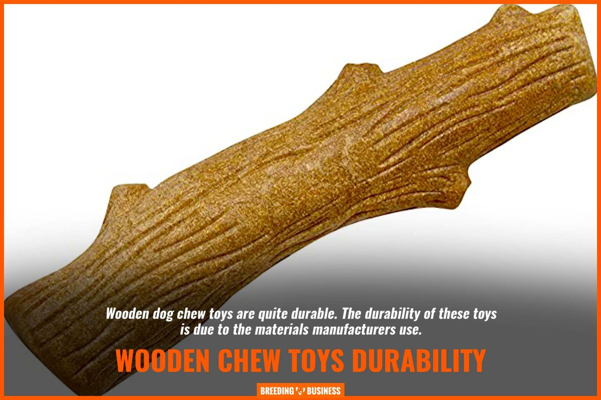 wooden chew toys durability