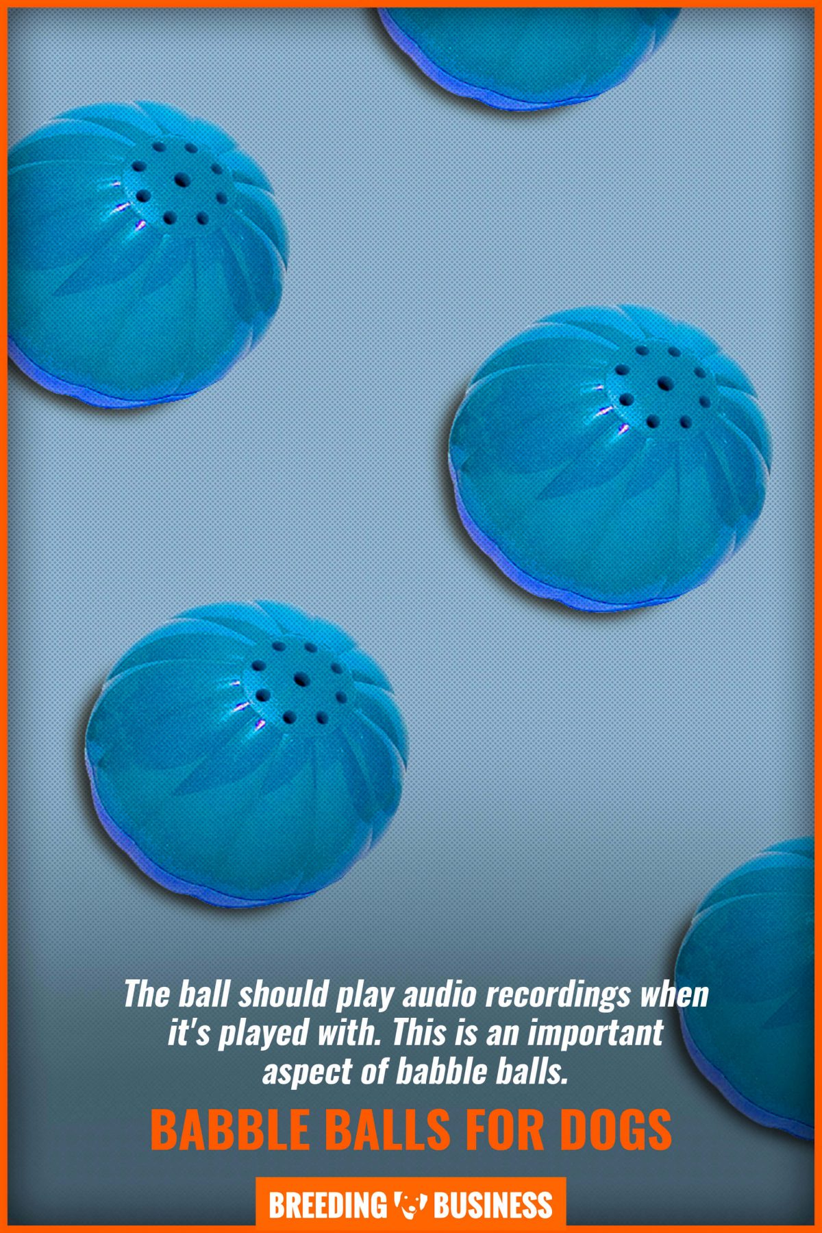 babble balls for dogs