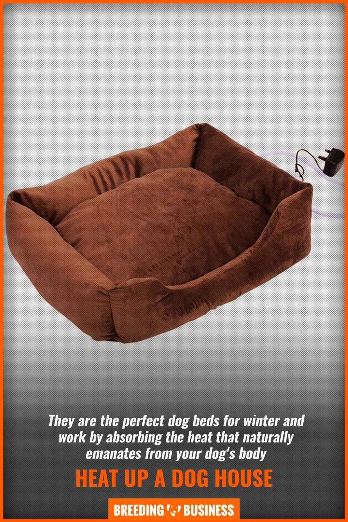 heat up a dog house