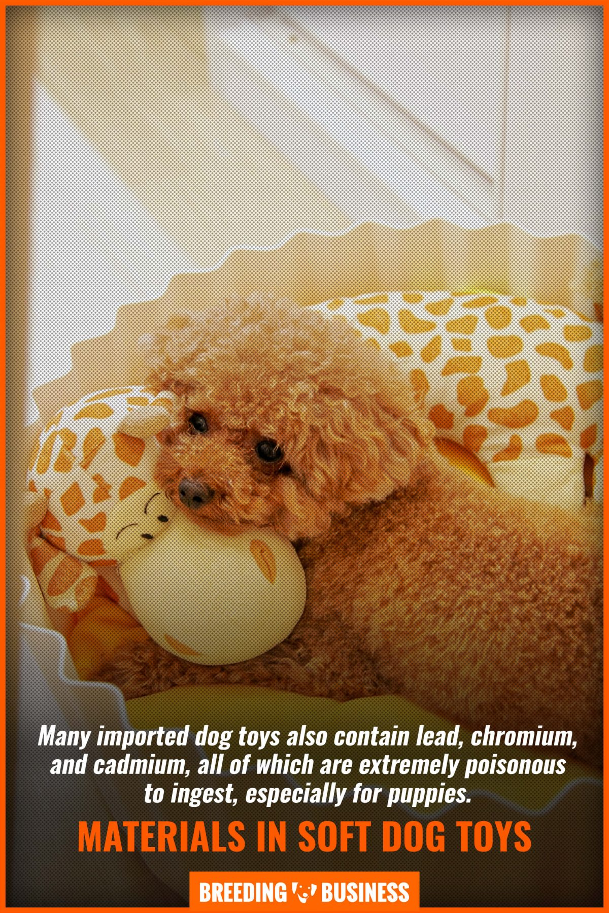 materials in soft dog toys