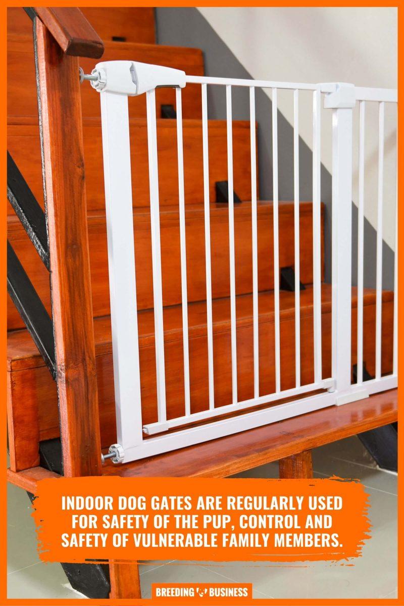 indoor dog stair gates