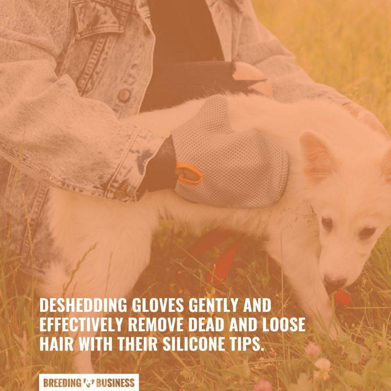 gloves for deshedding